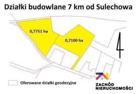 Nieruchomości Zielona Góra - Duża działka w Górzykowie